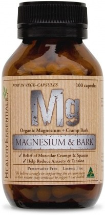 Healthy Essentials Magnesium w/Bark 100caps