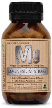 Healthy Essentials Organic Magnesium w/Bark 50caps