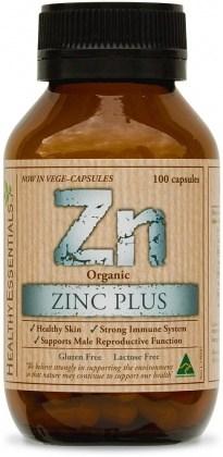 Healthy Essentials Organic Zinc Plus 100caps
