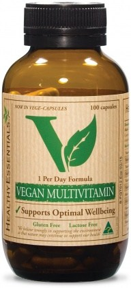 Healthy Essentials Vegan Hi Potency Multi 100caps