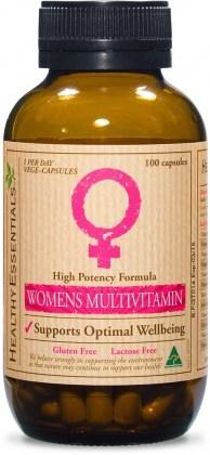 Healthy Essentials Women's Hi Potency Multi 100cap