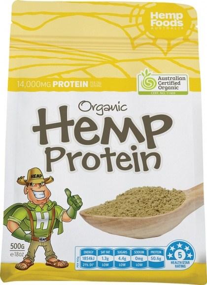 Hemp Foods Australia Organic Hemp Protein Powder - 500g