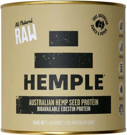 Hemple All Natural Raw Hemp Seed Protein 500g