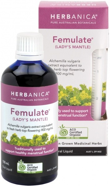 Herbanica Femulate (Lady's Mantle) Oral Liquid 100ml