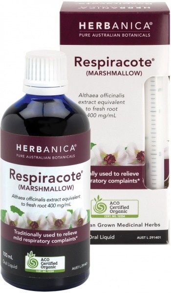 Herbanica Respiracote (Marshmallow) Oral Liquid 100ml