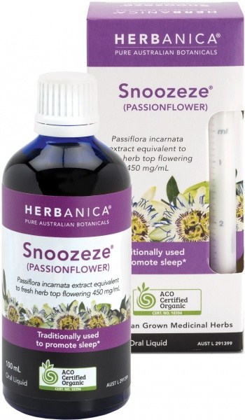 Herbanica Snoozeze (Passionflower) Oral Liquid100ml