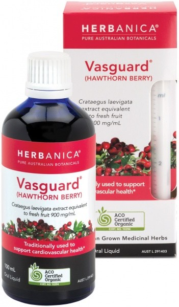Herbanica Vasguard (Hawthorn Berry) Oral Liquid 100ml
