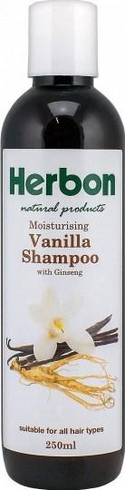 Herbon Vanilla/Ginseng Shampoo 250ml