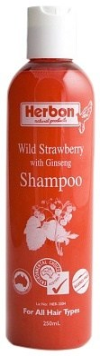 Herbon Wild Strawberry Shampoo 250ml