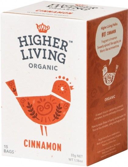 Higher Living Organic Cinnamon Tea 15Teabags