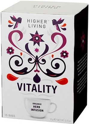 Higher Living Organic Vitality Tea 15Teabags