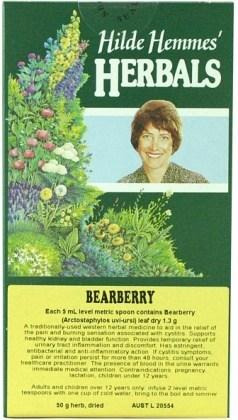 Hilde Hemmes Bearberry Leaf 50gm