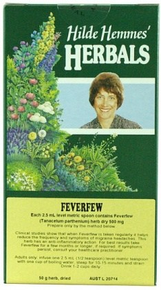 Hilde Hemmes Feverfew Herb 50gm
