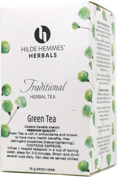 Hilde Hemmes Green Tea (Gunpowder) 75gm