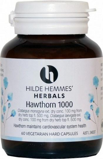 Hilde Hemmes Hawthorn 1000mg x 60caps