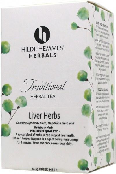 Hilde Hemmes Liver Herbs 50gm
