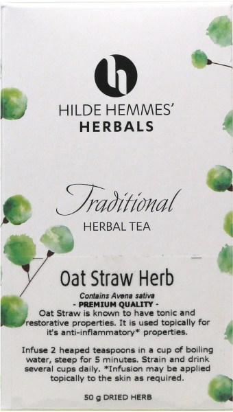 Hilde Hemmes Oat Straw Herb 50gm