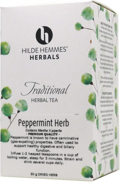 Hilde Hemmes Peppermint Herb 50gm
