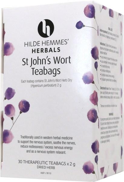 Hilde Hemmes St Johns Wort - 30 Teabags