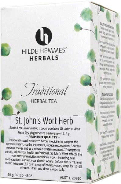 Hilde Hemmes St John's Wort  Herb 50gm