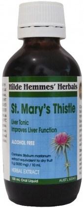 Hilde Hemmes St Marys Thistle  Herbal Extract 100ml