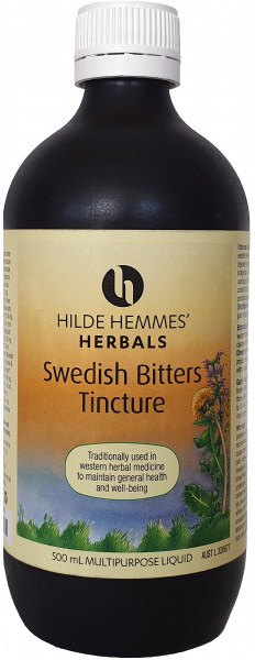 Hilde Hemmes Swedish Bitters - Tincture 500ml
