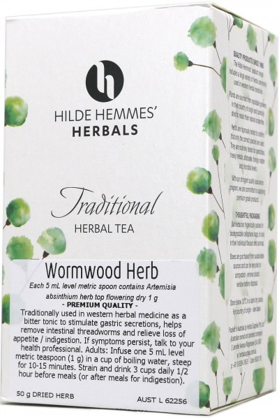 Hilde Hemmes Wormwood Herb 50gm