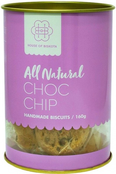 House of Biskota All Natural Choc Chip Biscuits  160g