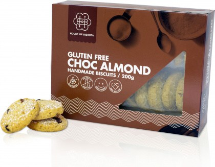 House of Biskota Gluten Free Choc Almond Biscuits 200g