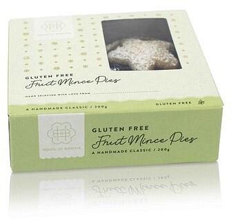 House of Biskota Gluten Free Mince Pies 200g