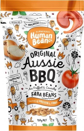Human Bean Co Aussie BBQ Faba Beans  150g