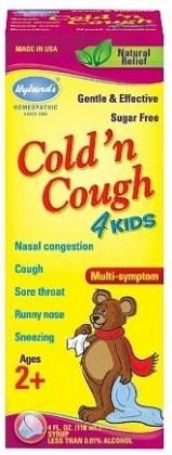 Hyland's Kids Cold 'n Cough 118ml FEB19