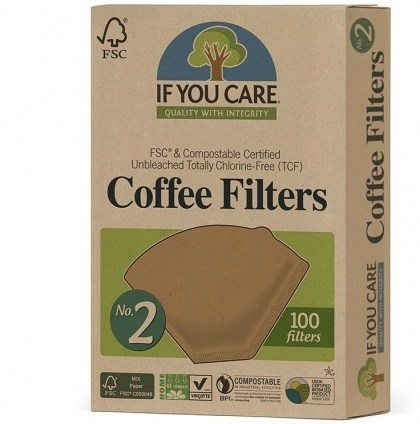 If You Care Coffee Filters No.2 100Filters