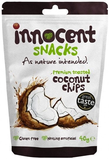 Innocent Premium Toasted Coconut Chips 12x40g
