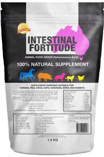 Intestinal Fortitude Animal Food Grade Diatomaceous Earth 1.5Kg