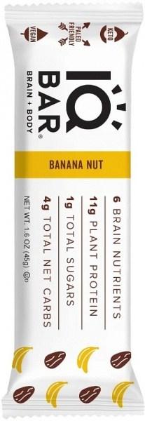 IQ Bar Brain + Body Banana Nut Bar  45g
