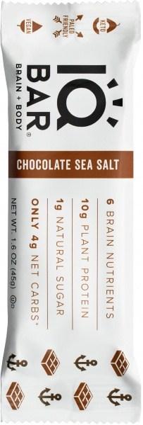 IQ Bar Brain + Body Chocolate Sea Salt  45g
