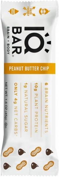 IQ Bar Brain + Body Peanut Butter Chip  45g