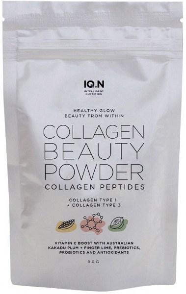 IQ.N Healthy Glow Collagen Beauty Powder w/Australian Superfoods 90g Pouch