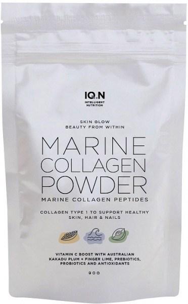 IQ.N Skin Glow Marine Collagen Beauty Powder w/Austalian Superfoods 90g Pouch