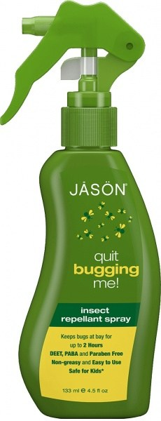 Jason Insect Repellent Spray Quit Bugging Me 135ml