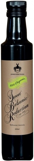 Jomeis Fine Foods 100%Organic Sweet Balsamic Reduction 250ml