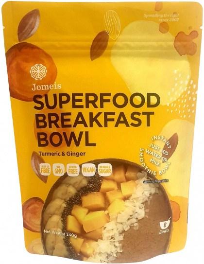 Jomeis Superfood Breakfast Bowl Turmeric & Ginger Powder  240g