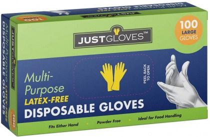 Just Gloves Multi-Purpose Large 100Pk