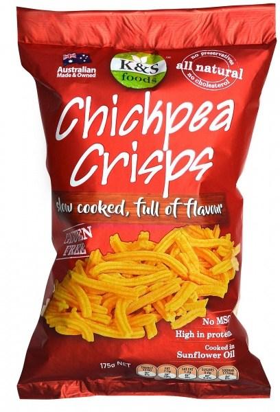 K & S Chickpeas Crisps 175gm