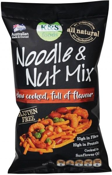 K & S Noodle & Nut Mix  150g