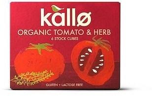 Kallo Stock Cubes Tomato & Herb Organic  66g