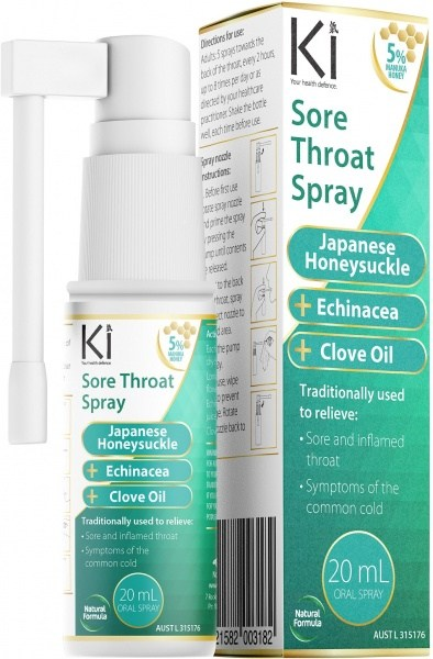 Ki Sore Throat Spray  20ml