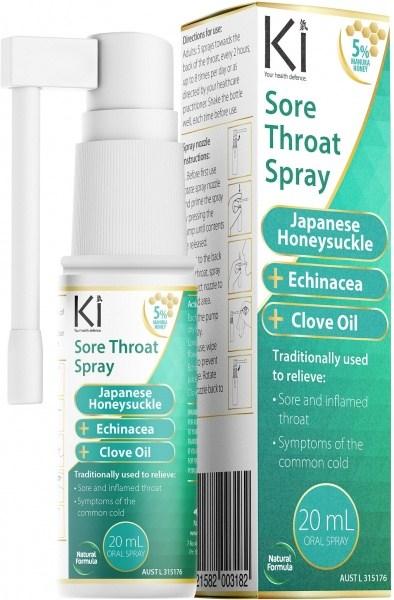 Ki Sore Throat Spray  20ml