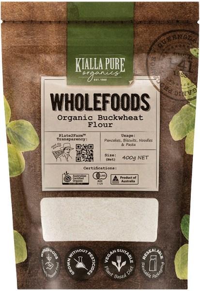 Kialla Pure Organics Organic Buckwheat Flour  400g